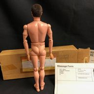 ACTION MAN BOXED MAIL-AWAY DOLL with  FLocked Hair & Gripping Hands